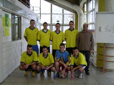 A győztes Bem SZKI csapata Domokos Lajos Testnevelővel