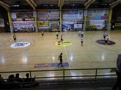 Pakozdi Hus Kupa 2013-14 az elso labda erintes