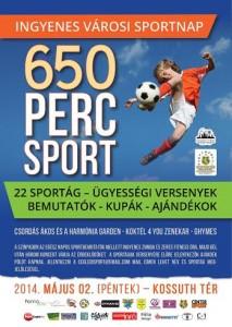 650 perc sport plakat
