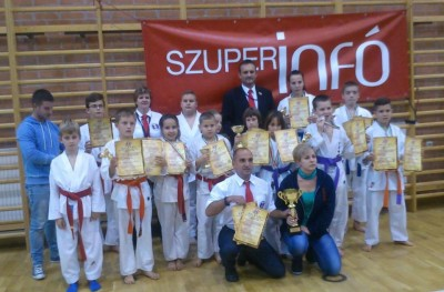 karate csapat Gyorben