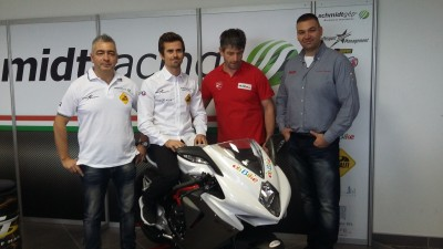 Nico Terol a Ducati szalonban